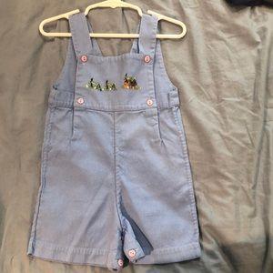 Strasburg Toddler Boys Overall/Romper - Size 24M